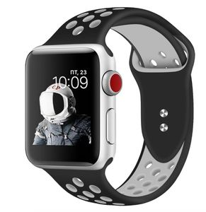 Promate 42Mm Apple Watch Band Medium Large Black White