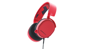 Steelseries Arctis 3 Binaural Head-band Red headset