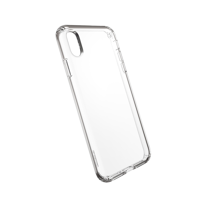 new style 47dff 284cf Speck Presidio Stay Clear Case Clear/Clear for iPhone XS Max