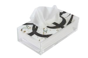 Tarateesh S Tissue Box Black