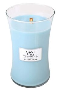 Woodwick Large Sea Salt Cotton