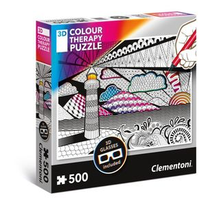 Puzzle 500 3D Color Therapy Puzzle Light