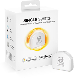 Fibaro Single Switch Apple Homekit White