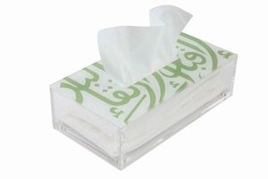 Ghida S Tissue Box Pearl Green