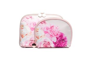 The Flower House Oval Beauty Bag