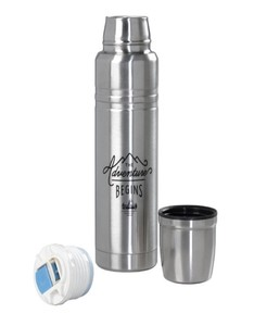 Gentlemen's Hardware Steel Vacuum Flask