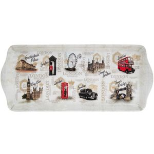 Vintage London Tray Med Ium