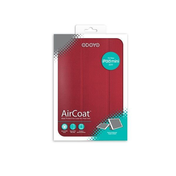 Aircoat Folio Case iPad Mini 7 9 2019 Red