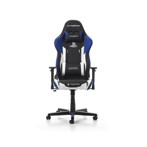 DXRacer PlayStation Gaming Chair Multi System Compatible Black Blue White