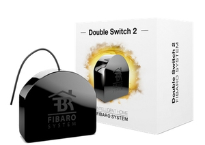 Fibaro Double Relay Switch Black