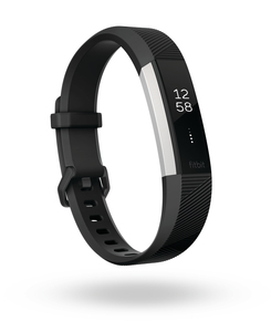 Fitbit Alta HR Black Heart Rate + Fitness Wristband [Large]