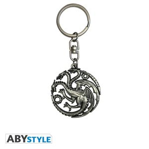 Game Of Thrones 3D Keychain Targaryen