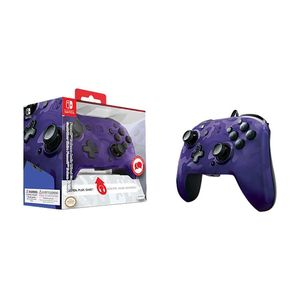 Faceoff Deluxe Wired Controller Purple