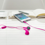 Iluv Bubble Gum Talk In-Ear Binaural Wired Pink Mobile Headset