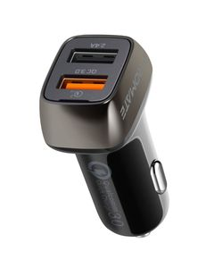 Promate Qc 3 0 Car Charger With 30 Wattdual Usb Ports