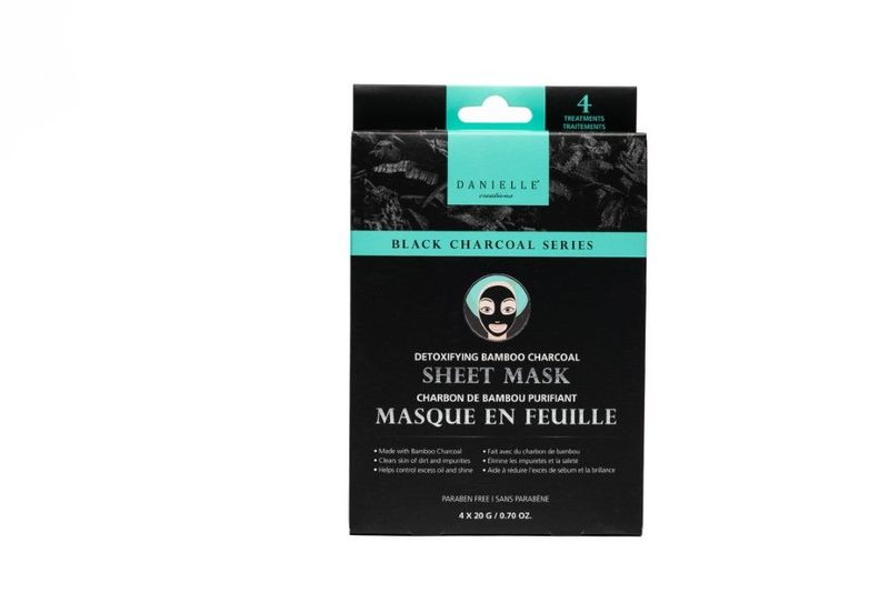 Charcoal Sheet Mask 4 Pack