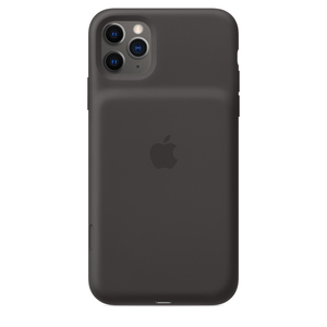 iPhone 11 Pro Max Smart Battery Case with Wireless Charging Black