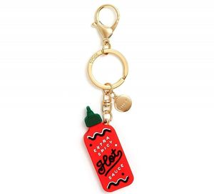 silicon keychain hot sauce