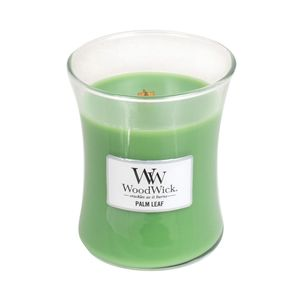 Woodwick Medium Jar Palm Leaf Green Candle
