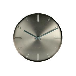 Wall Clock Belt Satin Nickel Design Studio Mango