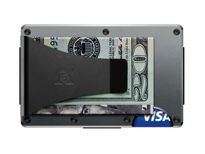 Aluminum Money Clip Gunmetal