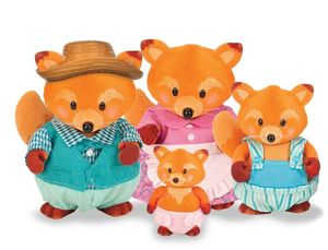 Li'L Woodzeez Fox Family
