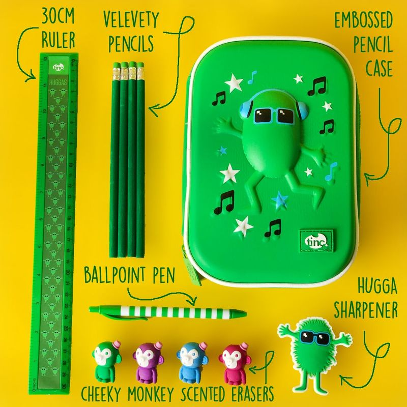 Pencil Case Gift Set Green