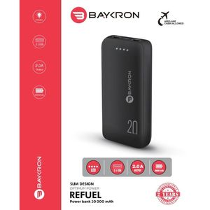 Baykron Power Bank 20K Type C