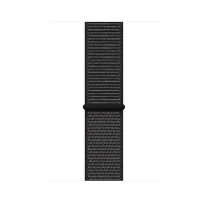 44Mm Black Sport Loop Large