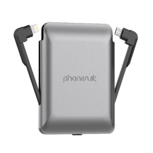 Phonesuit Journey Power Bank Grey Lithium-Ion (Li-Ion) 3500 Mah