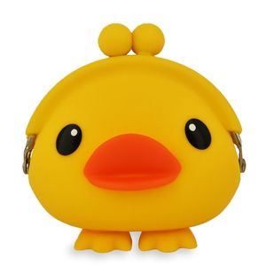 Yellow Duck Silicone Purse