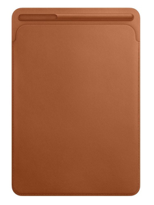 Apple Leather Sleeve Saddle Brown For iPad Pro 10.5-Inch
