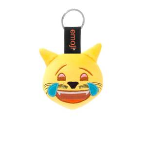 Emoji Tears Cat Official Yellow Keychain