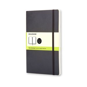 Moleskine Notebook Large Plain Black Hard