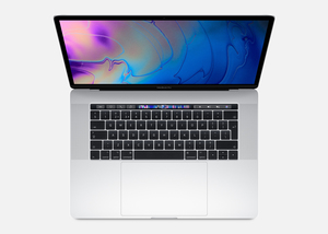 Macbook Pro 15-Inch With Touch Bar Silver 2.3Ghz 8-Core 9Th-Generation Intel-Core I9/512Gb Arabic/English