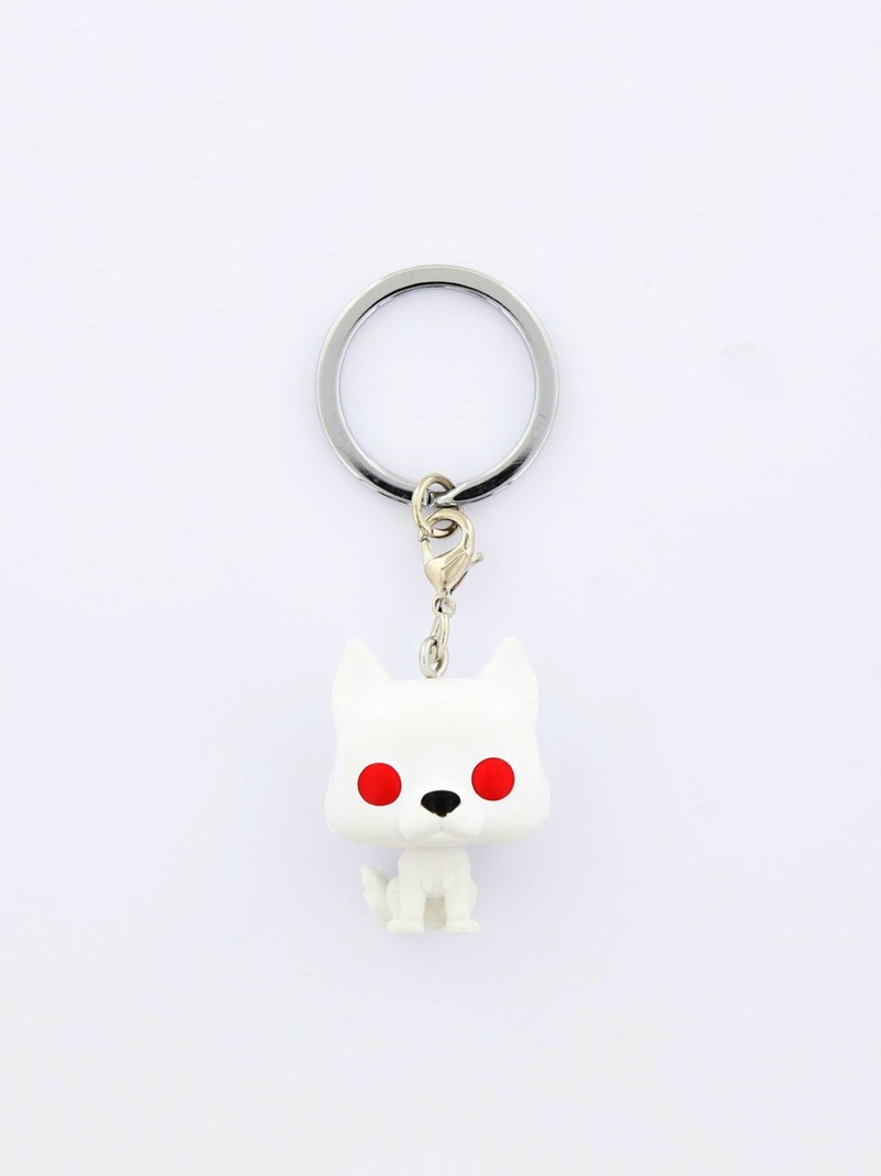 New! Pocket POP Game Of Thrones S9 Ghost Keychain