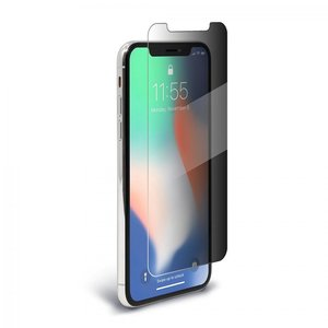 BodyGuardz SpyGlass 2 Tempered Glass Screen Protector for iPhone X