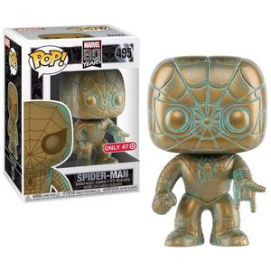 Pop Marvel Marvel 80th Spider Man Pt Exc
