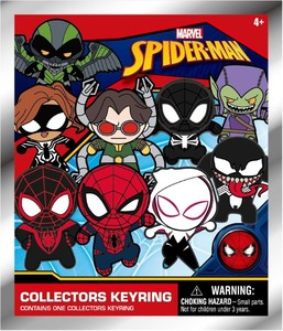 Marvel Spider Man Classic 3D Foam Collectible Keyring
