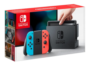 Nintendo Switch Joy‑Con portable game console Black/Blue/Red 15.8 cm (6.2 Inch) 32 GB Wi-Fi