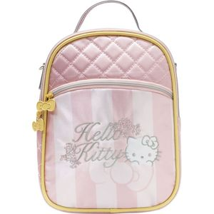 Hello Kitty Baby Flowers Fashion Bag W/2 Ways Use Straps As Shoulder Bag & Backpack