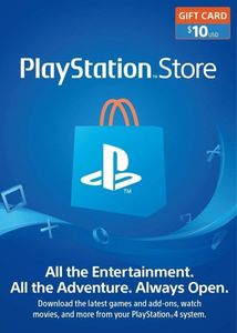 Playstation Network 10 Psn Card Us Store