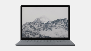 "Microsoft Surface Laptop Platinum Notebook 13.5"" 2256 x 1504 Pixels Touchscreen 7th Gen Intel Core i5"