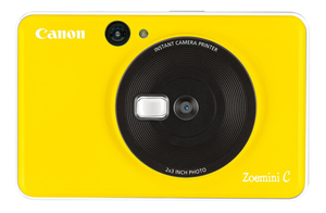 Canon Zoemini C Bubble Bee Yellow Instant Camera Printer