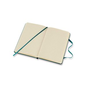 Moleskine 8058341715529 Notebook Large Plain Soft Cover Reef Blue