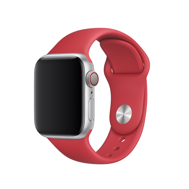 Apple 44mm Product Red Sport Band S M M L