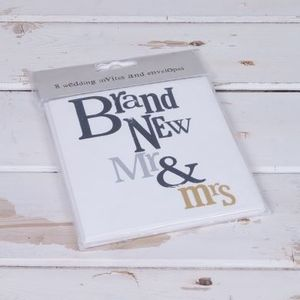 BSWS03 BRAND NEW MR  MRS WEDDING INVITES