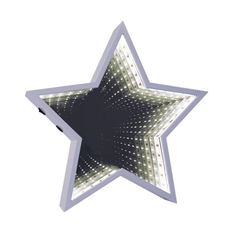 Infinity mirror star slv led