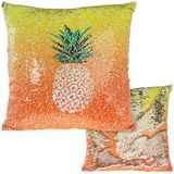 Pineapple Sequin Cushion