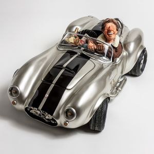 FORCHINO FO85082 SHELBY COBRA SILVER 50
